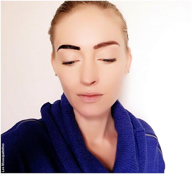 Résultat Tattoo Brow l'encre à sourcils - Maybelline - Avis blog beauté