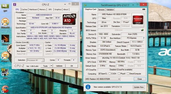 Acer Aspire V5-552G, Laptop Gaming Harga Murah
