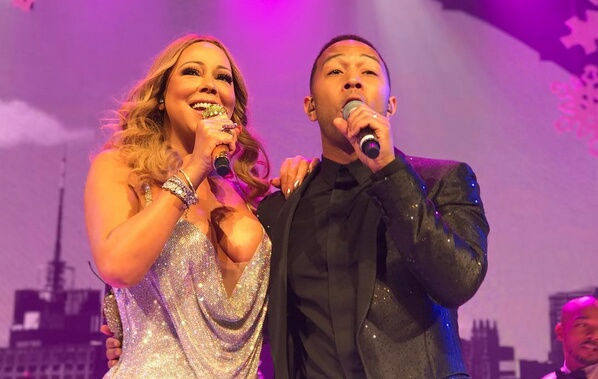 john legend x mariah carey when christmas comes live in nyc