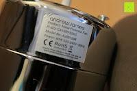 Etikett: Andrew James 40cm Standventilator mit Chromfinish – 60 Watt Motor, Verstellbare Höhe, 3 Geschwindigkeitseinstellungen, verstellbare Neigung und Schwenkfunktion + Hochbeanspruchbar – 2 Jahre Garantie