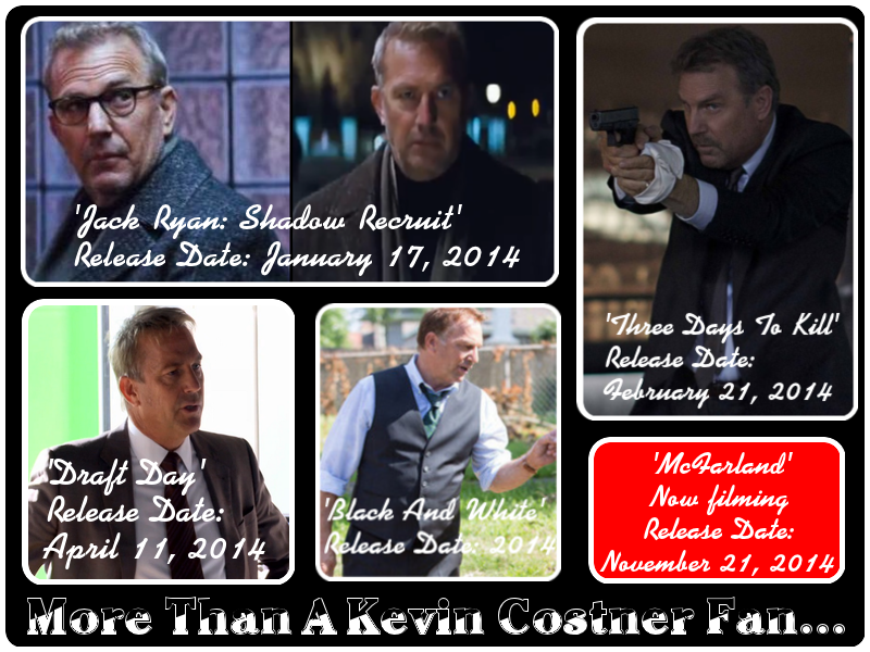 More Than A Kevin Costner Fan
