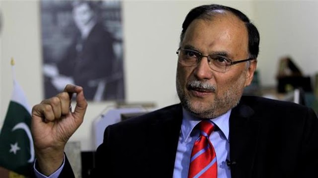 Pakistan's Interior Minister Ahsan Iqbal survives attempt on life