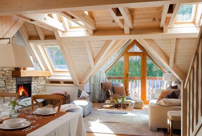 Slow life w górskim klimacie - wystrój wnętrz, wnętrza, urządzanie domu, dekoracje wnętrz, aranżacja wnętrz, inspiracje wnętrz,interior design , dom i wnętrze, aranżacja mieszkania, modne wnętrza, drewniany dom, górska chata