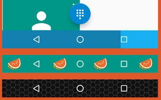 personalizza navbar android