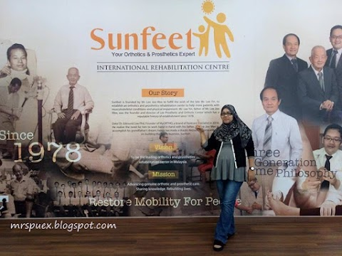 Jom lakukan pemeriksaan kaki di Sunfeet International Rehabilitation Centre