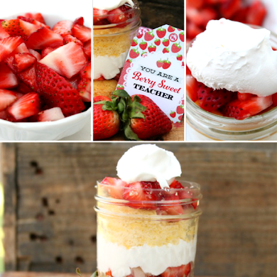 Strawberry Shortcake in a Jar Recipe