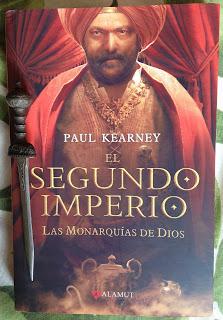 Portada del libro El segundo imperio, de Paul Kearney
