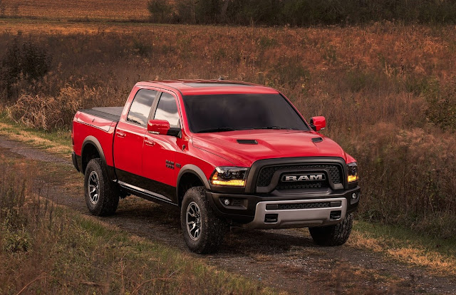 2016 Ram 1500 Rebel red