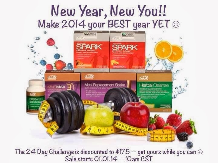 New Years Goals? Advocare Can Help!