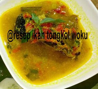 resep ikan tongkol woku