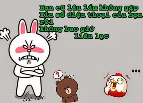 Tranh vui hài hước Gấu Brown và Thỏ Cony 2