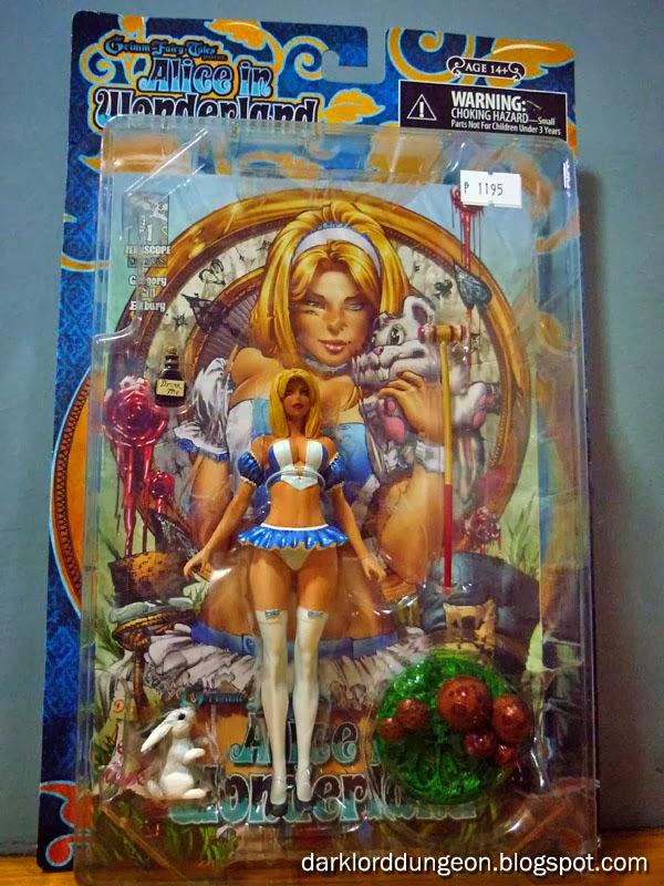 Dark Lord Dungeon Grimm Fairy Tales Alice In Wonderland Action Figure