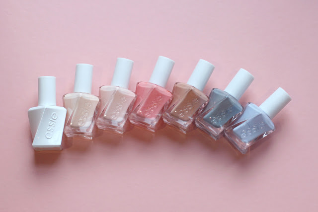 Essie gel couture ballet nude nail varnishes - UK beauty blog
