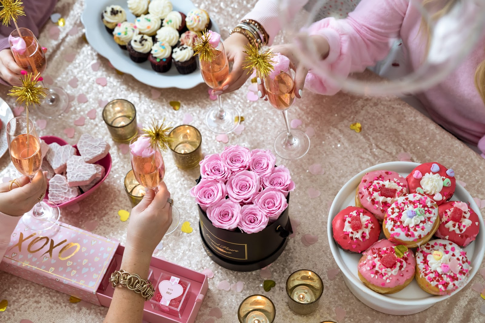 Feature Cozy At Home Galentine S Day Brunch Celebration Stylist Popular Party Planning Blog