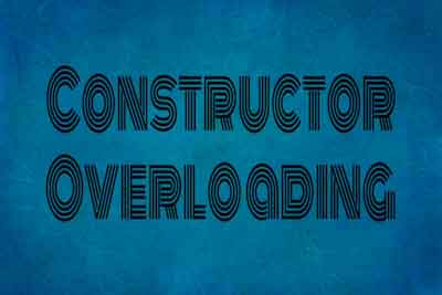 constructor overloading in c++ programming, learn c++ programming