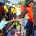 Relawan OMTOB Kunjungi Pasar SP3, Warga Akui Kenal Nomor 6