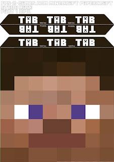 маска Стива из Minecraft