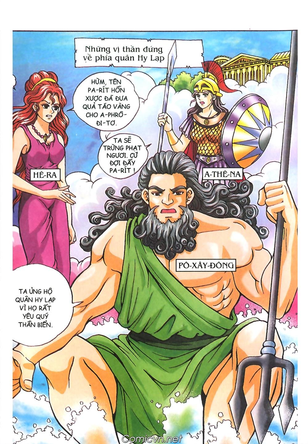 Thần Thoại Hy Lạp Màu - Chapter 57: Cuộc chiến định mệnh - Pic 3