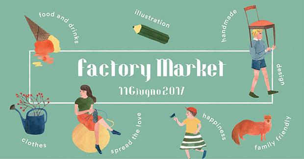 Locandina Factory Market giugno