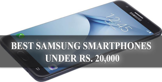 Best Samsung Budget Smartphone under 20000 Rupees in India