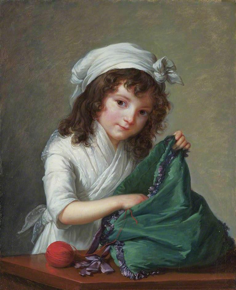 Exceptionnel Marie-Louise-Élisabeth Vigée-Lebrun - Jardin Secret HP23