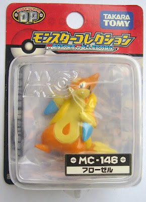 Floatzel figure Tomy Monster Collection MC series