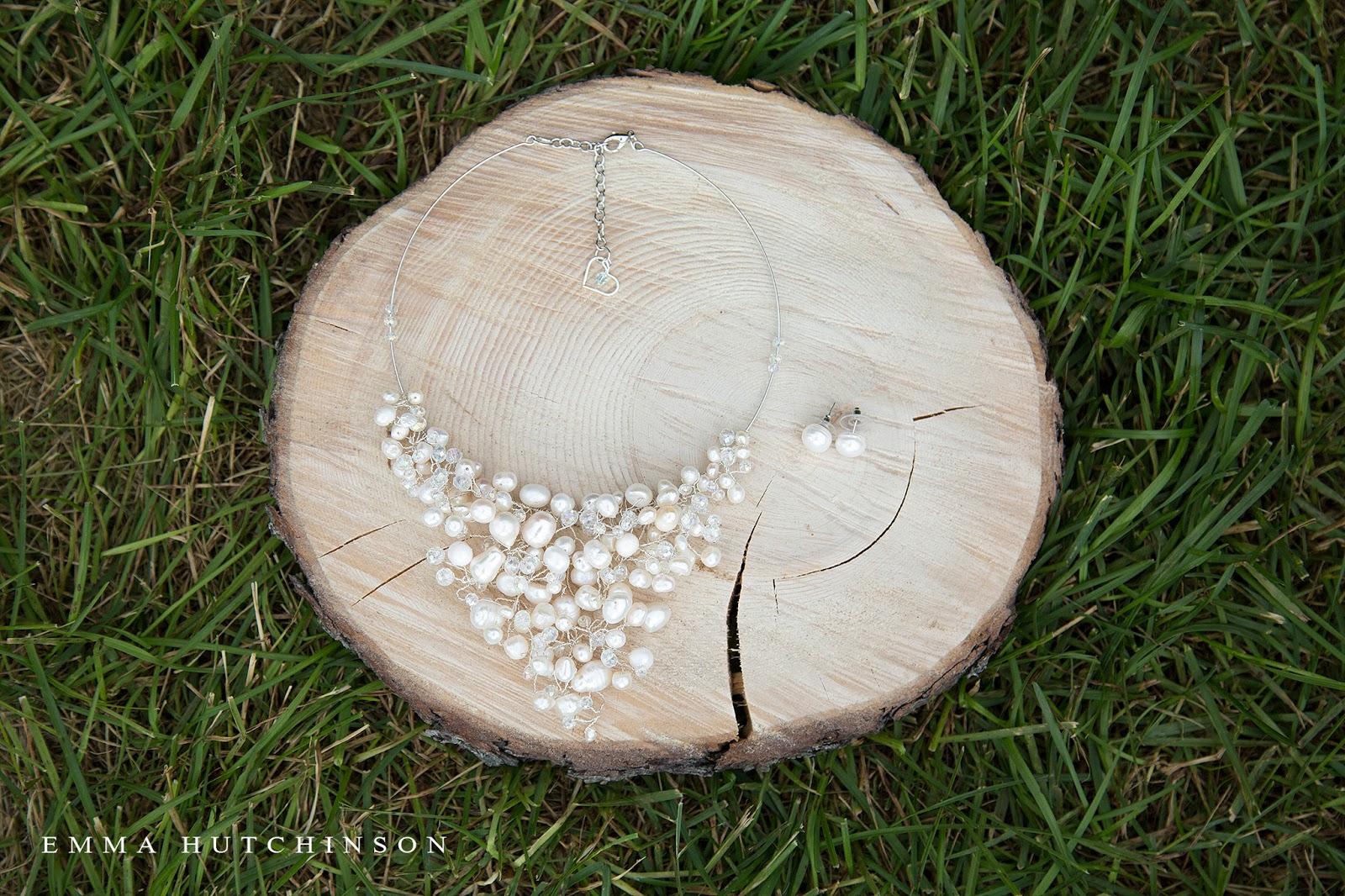 Newfoundland backyard wedding - Bridal jewlery