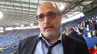 Carlo Zampa Roma Palermo 4-1 telecronisti tifosi video Serie A