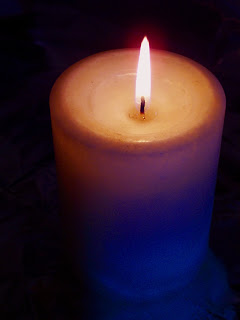 burning candle salvation poem by saurabh chawla