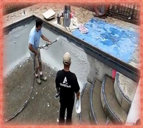 Pool Plaster Mix
