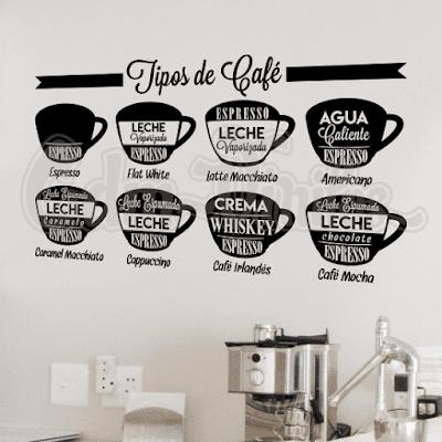 vinilos decorativos cocina tipos de cafe blends variedades