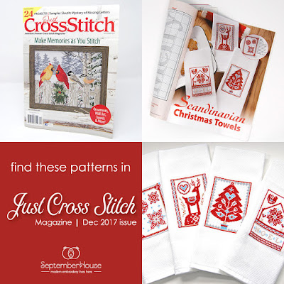 Scandinavian Christmas Cross Stitch Patterns SeptemberHouse