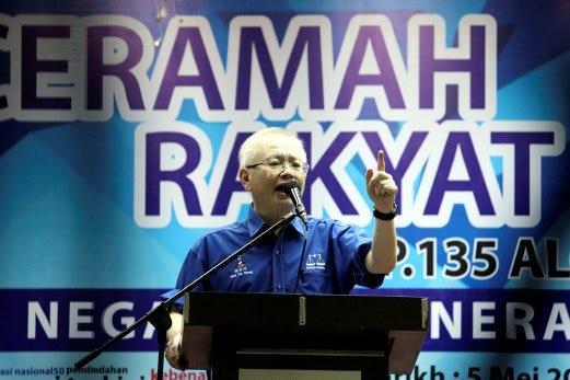 Semua Bilik Gerakan MCA Seluruh Johor Akan Dibuka - Wee Ka Siong #PRU14 #MCA