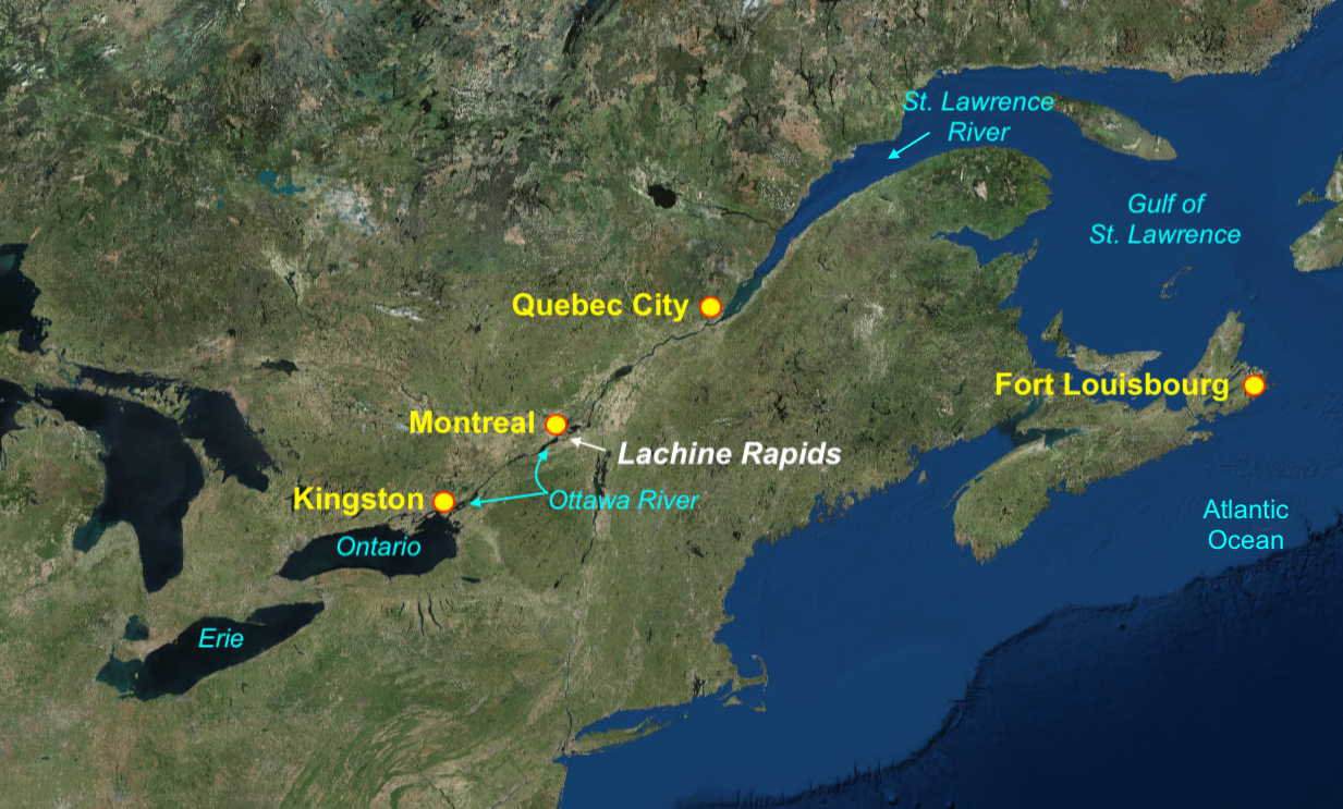 St. Lawrence River: how to get there Photos 92
