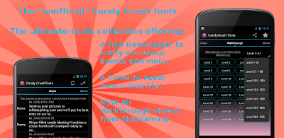 candy crush saga tools