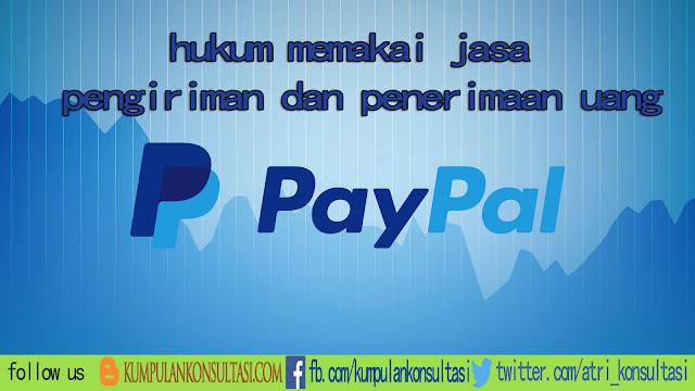 """Hukum menggunakan Paypal """"layanan rekening virtual online"""""""