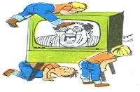 أين يوجد المذيع الذي نسمعه في المذياع أو نراه في التلفاز؟ - الموسوعة المدرسية