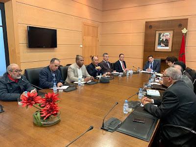 اجتماع وزير التربية الوطنية بكتاب النقابات التعليمية الأكثر تمثيلية