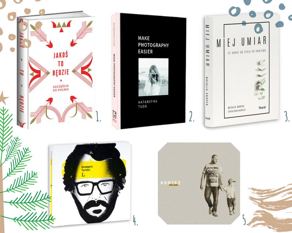 prezenty świąteczne | polskie książki