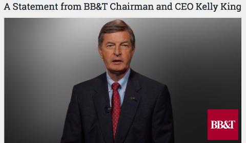 Excuses du PDG de BB&T
