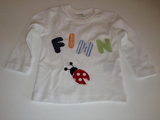 H&M-Shirt benähen