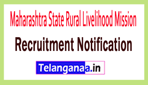 Maharashtra State Rural Livelihood Mission MSRLM Recruitment