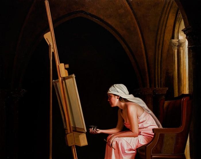 Талантливый художник-самоучка. Benito Leon 9