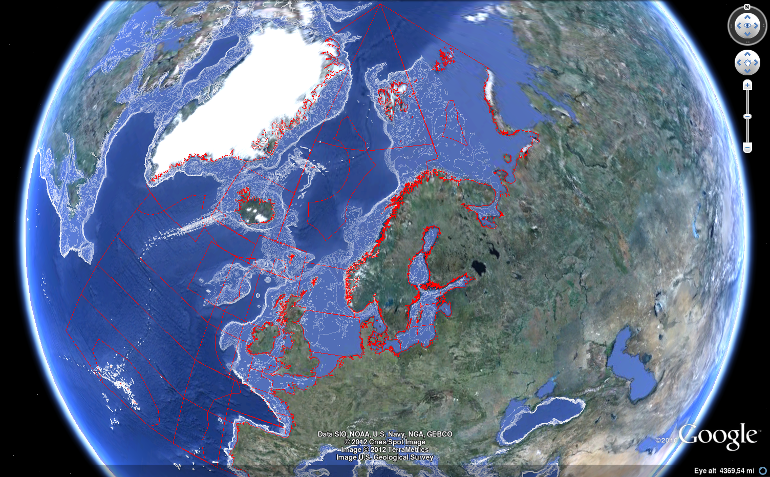 Google Earth and ocean depth contours | R-bloggers