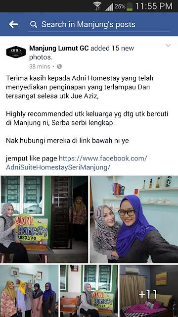 Homestay Seri Manjung Lumut - Review || Jue Aziz 2