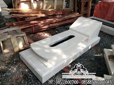 Jual Makam Marmer, Marmer Untuk Makam, Model Kijing Marmer