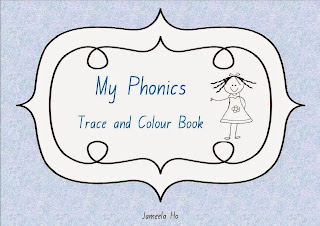 free download my phonics trace and colour book