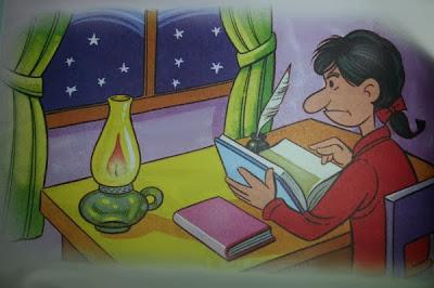 fabula la lampara y el estudiante