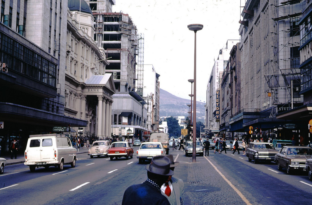 Checker Cab London >> AbakusPlace: Color Photos of Cape Town between the 1950s ...