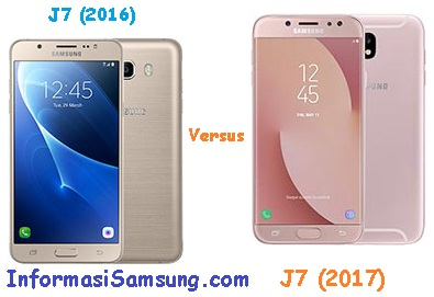 Perbandingan Samsung Galaxy J7 (2016) vs J7 (2017)